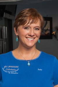 Kelly works with your Denver Orthodontists at 1st Impressions Orthodontics